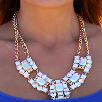 Double Strand Cluster Necklace