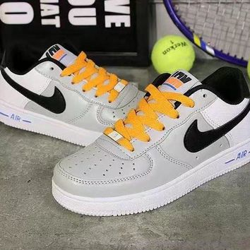 """""""Nike Air Force 1"""" Unisex Sport Casual Letter Multicolor Low Help Shoes Sneakers Coupl"""