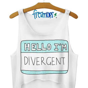 Hello Divergent Crop Top