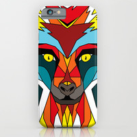 Wolf iPhone & iPod Case by Mark Ashkenazi