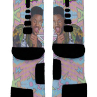 Fresh Prince Of Belair Custom Nike Elite Socks