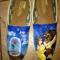 Hand Painted Beauty And The Beast Toms