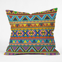Bianca Green Play Throw Pillow