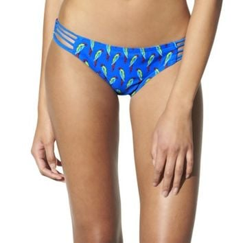 Xhilaration® Junior's Hipster Swim Bottom -Bird Print