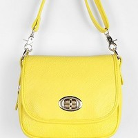 Cooperative Contrast-Zip Crossbody Bag