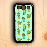 Dream colorful Cactus Samsung Galaxy S3 Case