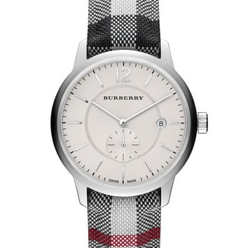 BURBERRY THE CLASSIC ROUND BU10002 40MM SUBSECOND