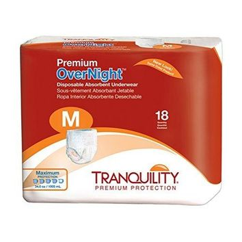 Tranquility Premium OverNight Pull On Adult Heavy Absorbent Underwear | Principle #2114