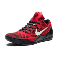 NIKE KOBE IX ELITE LOW - UNIVERSITY RED/BLACK | Undefeated