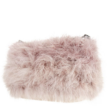 Marabou Feather Bag - Topshop