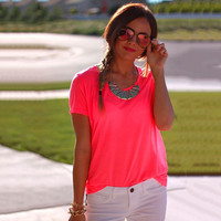 Neon Colored Tee