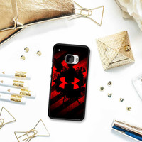 Under Armour Red Art HTC One M10 Case Planetscase.com
