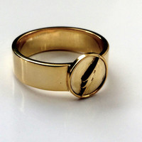 The Flash Ring - Silver, Gold or Brass