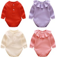 Baby Rompers Spring Baby Boy Clothes Newborn Clothing Cotton Baby Girl Clothes Roupas Bebe Infant Baby Jumpsuits Kids Costume