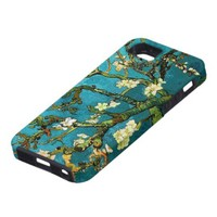 Van Gogh Blossoming Almond Tree Vintage Fine Art iPhone 5 Cases from Zazzle.com
