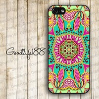 Custom iphone 5 case iphone 5 cover iphone 5 cases Hard case--Beautiful Flower Image Printing