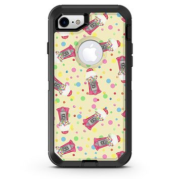 The Fun Colorful Gumball Machine Pattern - iPhone 7 or 8 OtterBox Case & Skin Kits