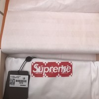 Supreme x Louis Vuitton Box Logo Authentic T-shirt LV Tee bogo IN HAND L Large
