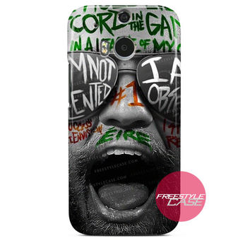 Conor McGregor Fighter UFC  HTC One Case Cover Series