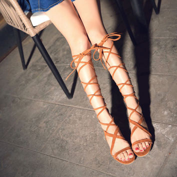 Gladiator Sandals up to Size 12 (26.5cm EU 43)
