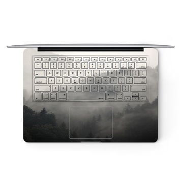 Misty Forest Apple MacBook Keyboard Keys Cover Decal Skin Sticker Protector Air Pro Retina Touch Bar | 3M | 11 12 13 15 17 inch