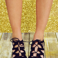 Crossing Over Wedges: Black