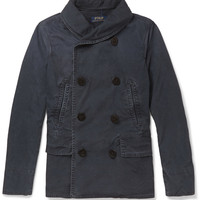 Polo Ralph Lauren - Unstructured Washed-Cotton Double-Breasted Jacket | MR PORTER