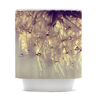 """Ingrid Beddoes """"Sparkles of Gold"""" Shower Curtain"""