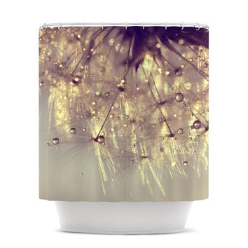 "Ingrid Beddoes ""Sparkles of Gold"" Shower Curtain"
