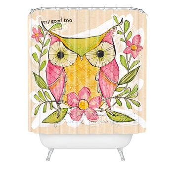 Cori Dantini Very Good Shower Curtain