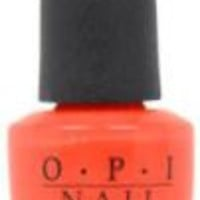 OPI Women Nail Lacquer - # NL H61 Red Lights Ahead Where? Nail Polish