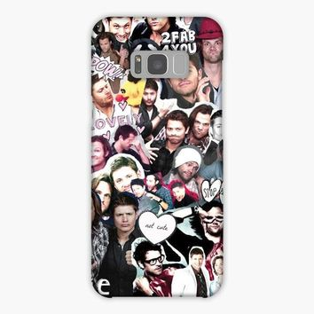 Destiel Supernatural Collage Samsung Galaxy S8 Plus Case