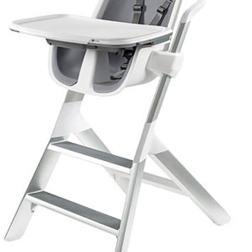 4moms Mealtime High Chair - White/Grey