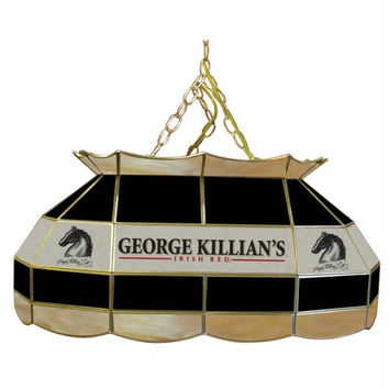 Killians 28 inch Stained Glass Pool Table Lamp