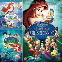The Little Mermaid DVD Trilogy Set Includes All 3 Movies