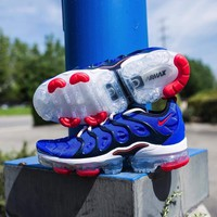 "Nike Air VaporMax Plus ""Racer Blue/University Red"""