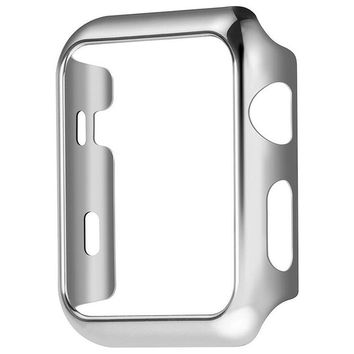 Apple Watch Series 1 Case 38/42mm, Yimer Full Cover Slim Hard PC Plated Protective Bumper Shockproof Sheld Guard Screen Protector Cover