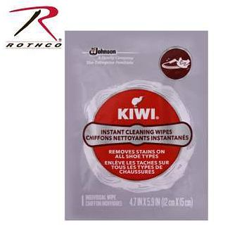 Instant Shoe Cleaning Kiwi Wipes