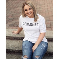 Redeemed (white) - Tee