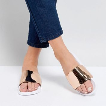 Truffle Collection Wide Fit Sliders at asos.com