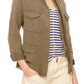 Sanctuary Roy Frayed Surplus Jacket | Nordstrom