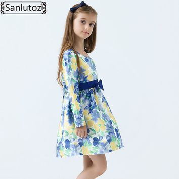 Girls Dress Winter Girls Clothing Party Flower Children Dress Brand Kids Clothes Princess Holiday Spring Wedding Baby Toddler