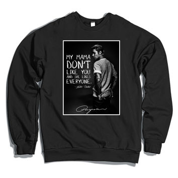 Love Yourself By Justin Bieber Crewneck Sweatshirt