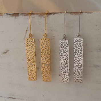 Crackle Earings (ready to ship)