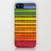 Hippie Style Pattern iPhone Case by Maximilian San | Society6