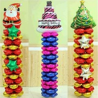 Balloon Column Base Stand Display Kit Birthday Balloon Stick Wedding Birthday Party Decoration Supplies bruiloft decoratie