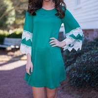 Show You Love Dress, Green