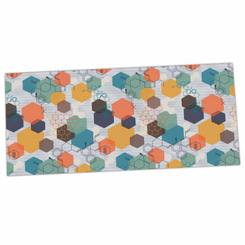 "Maike Thoma ""Biomolecular"" Science Multicolor Desk Mat"