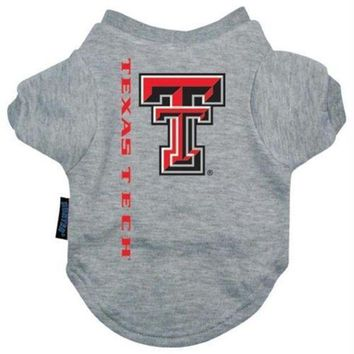 ESBONI Texas Tech Pet Tee Shirt