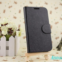 Wallet Samsung galaxy s4  sleeve pouch cover case wallet with card holder handmade leather galaxy  s4